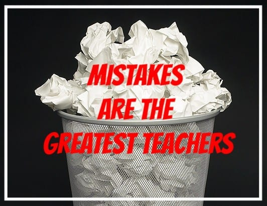 Mistakes Can Create Success