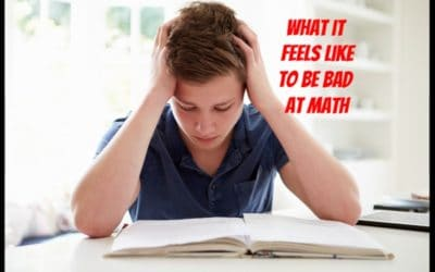 What it feels like to be bad at math