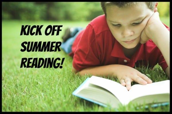 Kick off summer reading!