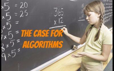 A Case for Algorithms