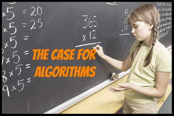 A Case for Algorithms