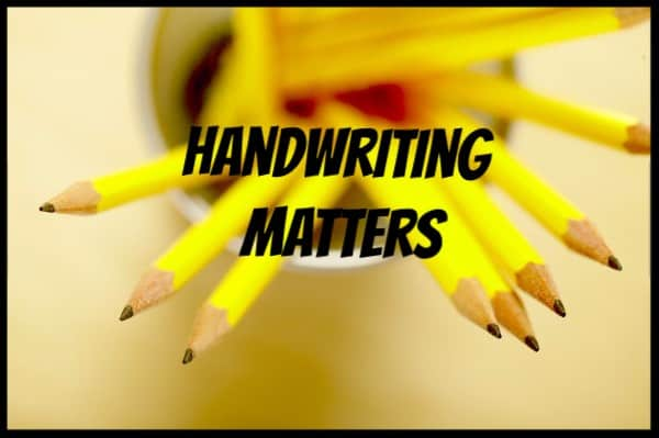 Handwriting Matters