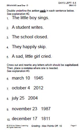 Grammar - Verbs