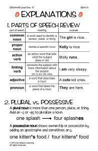 Grammar Explanation