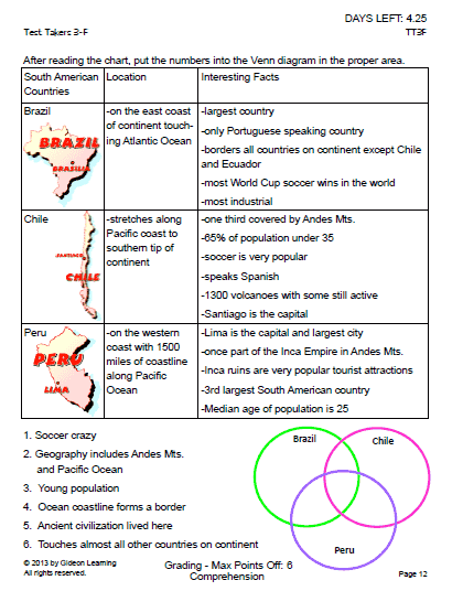 Venn Diagram Reading Comprehension Yelomdiffusion