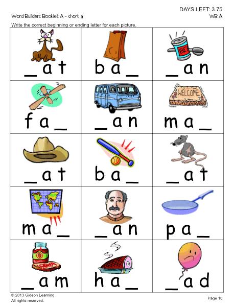 Spelling - Phonics