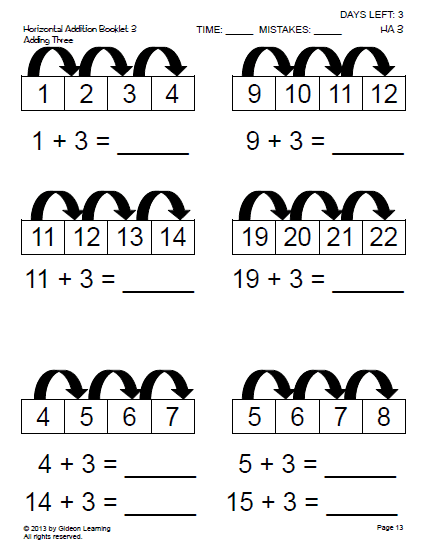 Addition Patterns