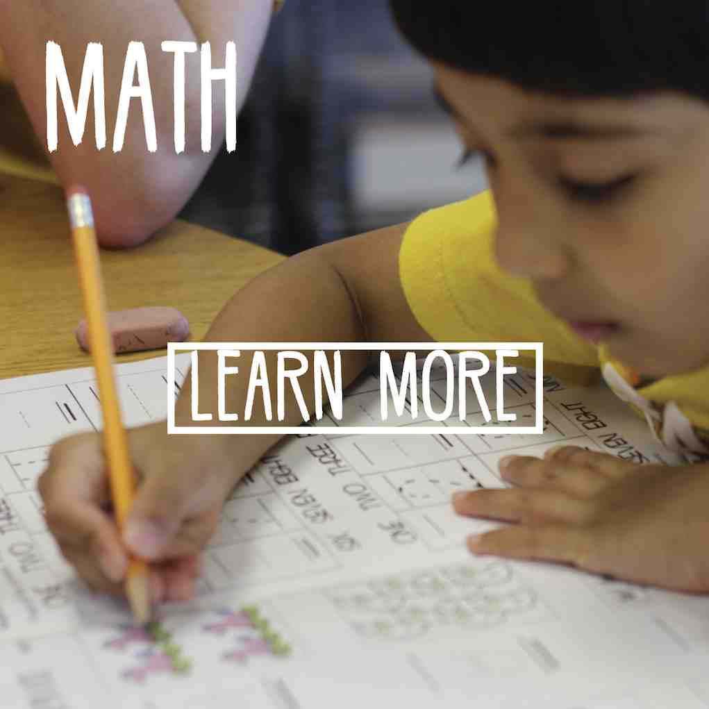 Math Program - Learn More